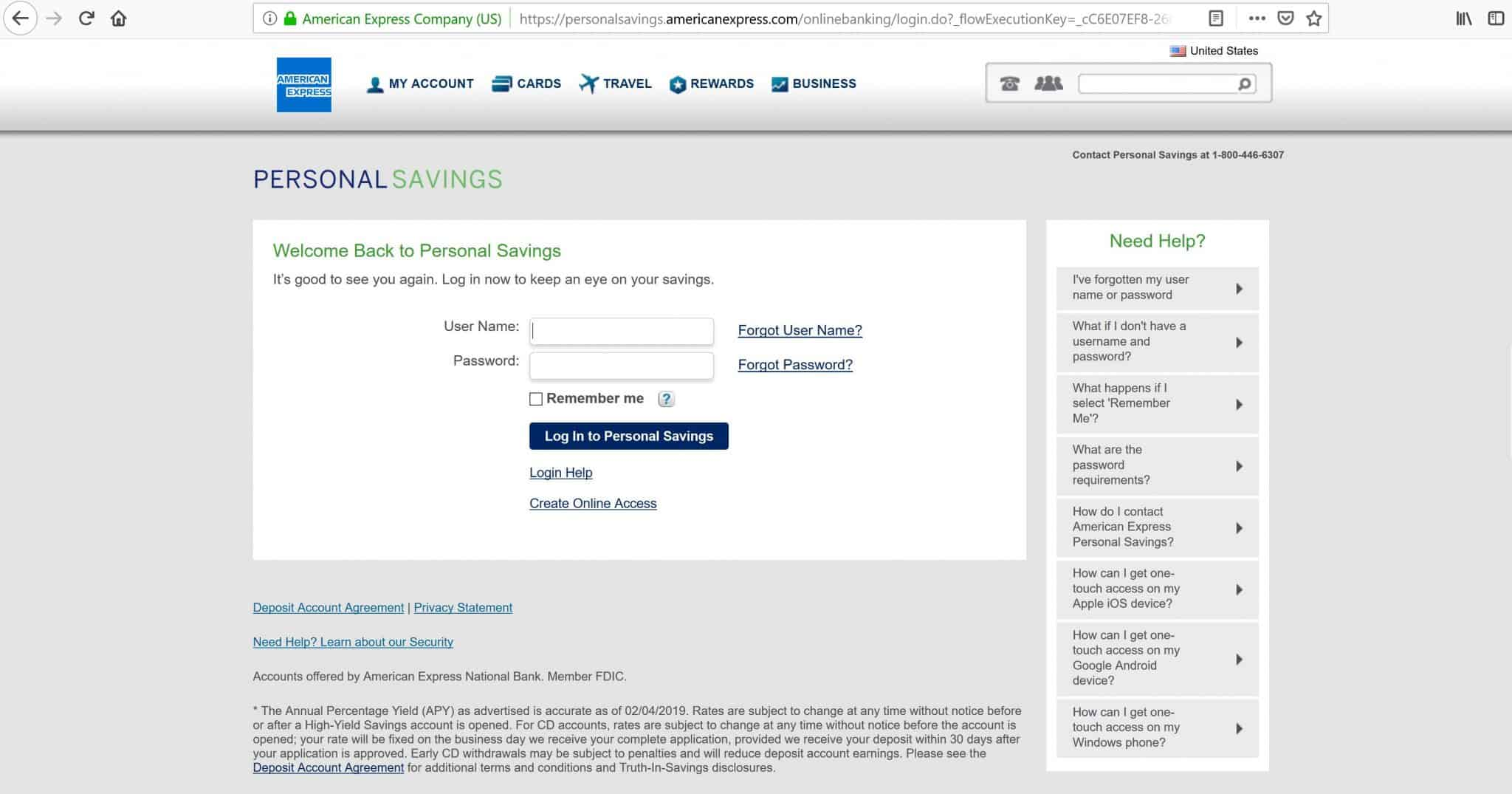 American Express Online Savings >> 5 Best Online Savings Accounts With High Interest Rates