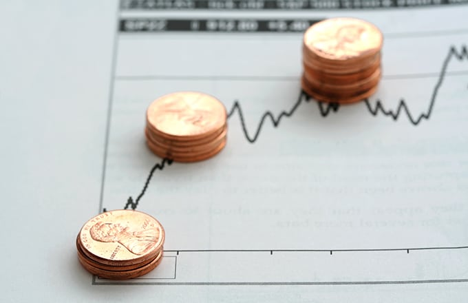 Pennies On Graph