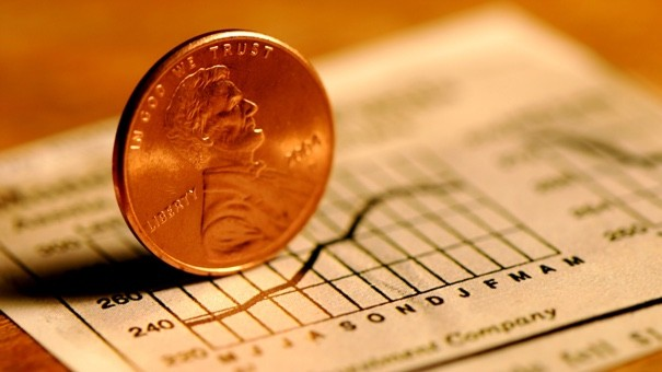 Penny On Graph