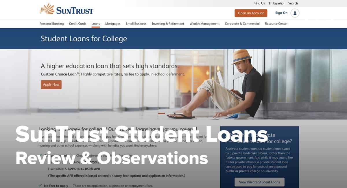 Suntrust Student Loan