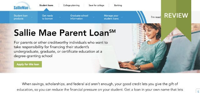 Sallie Mae website